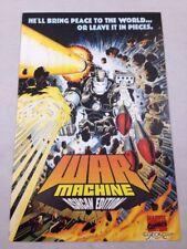 War Machine Ashcan Edition Marvel Comics December 1993 Iron Man Unread NM