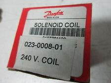 DANFOSS SOLENOID COIL 023-0008-01 018Z761100 240V NEW