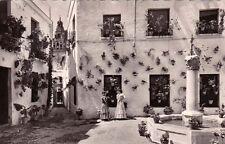 ESPAGNE SPAIN ESPAÑA CORDOBA 94 plaza y calleja de las flores chalado