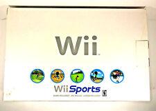 LOT of 2 Nintendo Wii Consoles IN ORIGINAL BOX W/Manual PARTS BROKEN Not Working