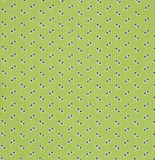 Denyse Schmidt Flea Market Fancy Eyelet Fabric in Green PWDS023 100% Cotton
