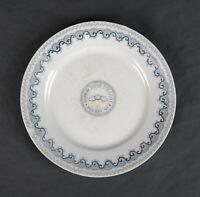 Antique 19th Century Homer Laughlin Oddfellows IOOF Porcelain Ceremonial Plate