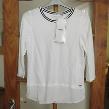 Airfield Layer look white shirt with 3/4 sleeves size 36 bust BNWT