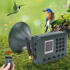 Outdoor Bird Hunting Sounds Voice Caller Player Loudspeaker Decoy Remote Control