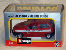 Modellini statici di auto, furgoni e camion Burago pressofuso per Fiat