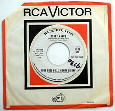 PEGGY MARCH 45 Your Good Girl's Gonna Go Bad VG++ Country PROMO Bopper e2982