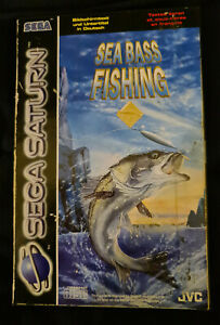 Sea Bass Fishing - Sega Saturn - PAL - Complete with manual