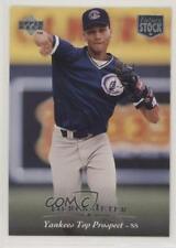 1995 Upper Deck Minor League Top Prospect Future Stock Derek Jeter #1 HOF