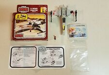 Star Wars Micro Collection X-Wing Fighter Vehicle w/ Box & Figure Kenner 1982
