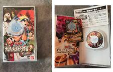 PLAYSTATION PSP JEU VIDEO NARUTO IMPORT?