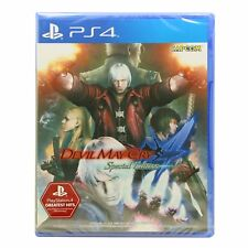 NEU PS4 DMC 4 Devil May Cry 4 Special Edition (Asian, English +Japanese)
