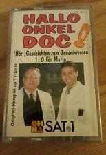 Hallo Onkel doc, Nr. 1, MC, Kassette, OHHA Sat 1, NEU und OVP.