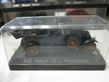 New ListingSolido - Scale 1/43 - 4165 - Renault 40 cv Presidentielle - Mini Toy Car 2a3