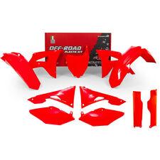 Kit Plastic RACETECH Fluo Red Honda Crf250r & Crf450r