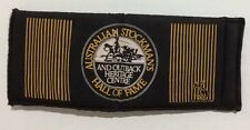 AUSTRALIAN STOCKMANS HALL OF FAME STUBBY HOLDER,AUSTRALIAN STOCKMANS STUBBY