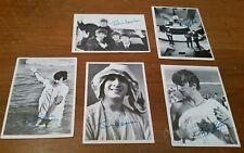 5 Beatles TCG Card Lot Topps 2nd 3rd Series John Lennon Paul Mccartney Ringo