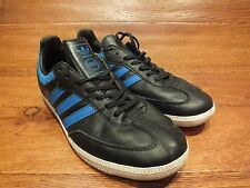 Adidas Originals Samba Black Leather Casual Trainer Size UK 7 EU 40.5