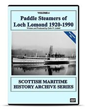 DVD Paddle Steamers of Loch Lomond 1816-1981 Scottish Maritime Transport History