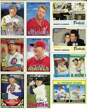 2016 Topps Heritage Baseball MASTER Series 550 Card Set in the 1967 Design