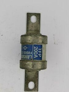 LAWSON TFP200 200A H.R.C. BOLT TAG FUSE LINK