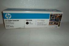 HP 125A Toner Cartridge BLACK 2.2K for CP1215 CM1312 CP1515n CP1518n CB540A NEW