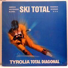 SKI TOTAL - Tyrolia Total Diagonal Klub 1983 - AMBROS/FENDRICH etc - NM (6)