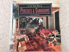 PORCHES Sunrooms VERANDA Gazebo PATIOS Conservatory Indoor Outdoor Space BOOK