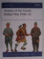 Armies of The Greek-italian War 1940-41 by Phoebus Athanassiou 9781472819178