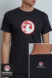 Genuine Official Licensed Vauxhall Logo T-Shirt By Richbrook