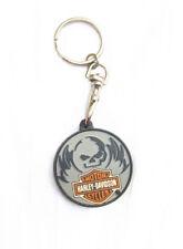 Harley-Davidson Gummi Schlüsselanhänger Keyring NEU (A48v)
