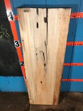 "# 9931     3"" thick mineral stained poplar Live Edge Slab lumber craft"