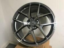 Set Of Four 18 Stag Gunmetal Rims Y Spoke Amg Style For Mercedes Benz 5x112