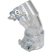 GXG Kingman Spyder Bent 45 Elbow Hopper Loader Feedneck Feed Neck - Clear