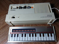 CASIO PT-7 mini micro KEYBOARD synthesizer.Electronic Musical Instrument Vintage