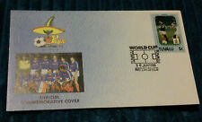 MEXICO 86 FOOTBALL WORLD CUP FDC FIRST DAY COVER FRANCE TUVALU FIFA WORLD CUP VG