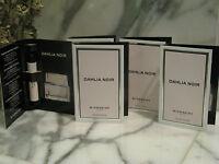 Dahlia Noir Givenchy Paris .03oz 1ml Eau de Toilette Women's fragrance Lot of 5