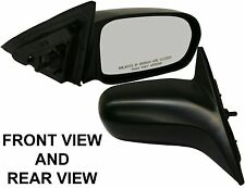 KOOL-VUE HD36R 01-05 Honda Civic 4 Door RH Manual Remote Passenger Side Mirror