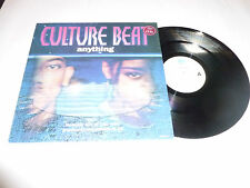 "CULTURE BEAT - Anything - 1993 4-track 12"" vinyl single"