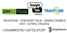 Remote Unlock Service Samsung Galaxy On5 S550TL Tracfone Simple Mobile