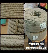 Cordage corde tressée polypropylène simili chanvre 14mm x 100mts nautica