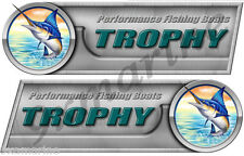 "Two Trophy 10"" Long Sticker Set Left/Right"