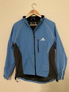 Ladies Altura Cycling Blue Long Sleeve Jacket - Size S Small Seamsealed Garment