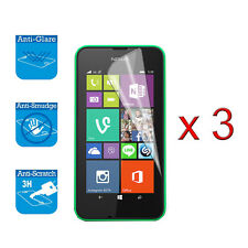 For Nokia Lumia 530 Screen Protector Cover Guard LCD Film Foil x 3