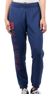 NFL Team Apparel Womens Medium New York Giants Relaxed Fit Jogger Sweatpants NEW