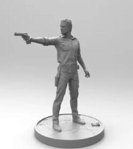 1/16 Resin Figure Model Kit Rick The Walking Dead Survivor Unpainted Unassambled