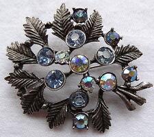 Rhinestone Glass Vintage Costume Jewellery (1950s)