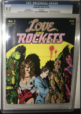 Love and Rockets #1 CGC 4.5 1982 1st App Hopey, Luba, Maggie - THIRD PRINTING
