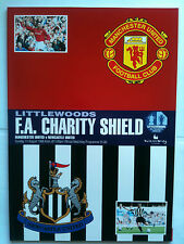 MINT 1996 Charity Shield Manchester United v Newcastle United