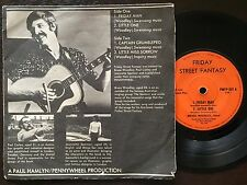 BRUCE WOODLEY - - FRIDAY STREET FANTASY- Rare Australian Folk Private Pressed EP