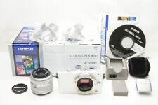 OLYMPUS PEN mini E-PM1 Digital Camera w/ M.ZUIKO DIGITAL 14-42mm Lens #200704ad